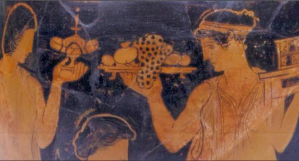 Τι έτρωγαν οι αρχαίοι Ελληνες;